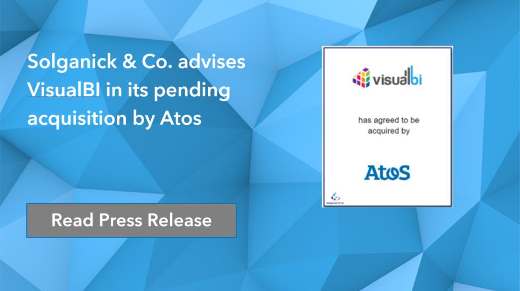Atos has acquired VisualBI